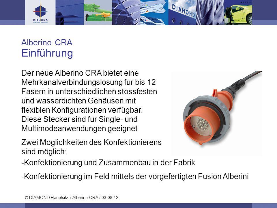 Einführung Alberino CRA
