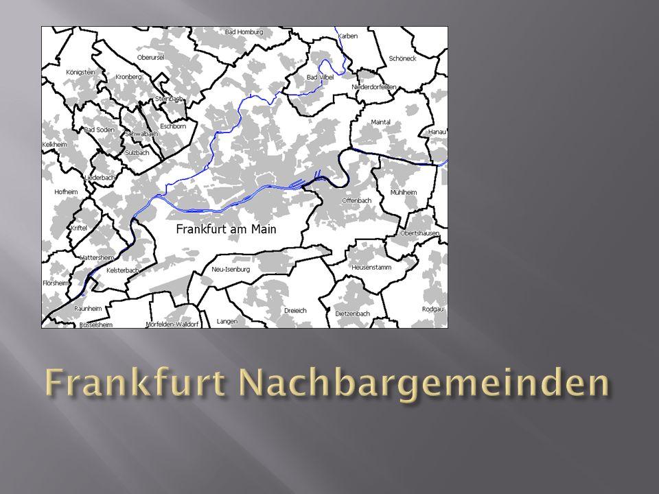 Frankfurt Nachbargemeinden
