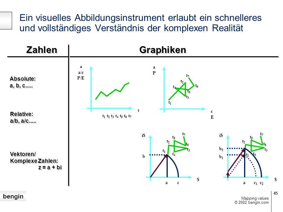 Ein visuelles Abbildungsinstrument erlaubt ein schnelleres und vollständiges Verständnis der komplexen Realität