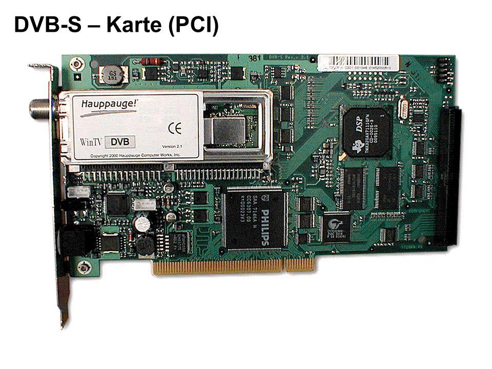 DVB-S – Karte (PCI)