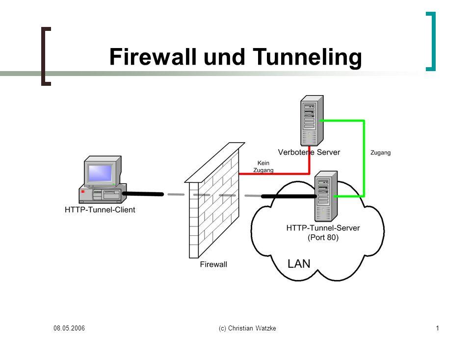 Firewall und Tunneling