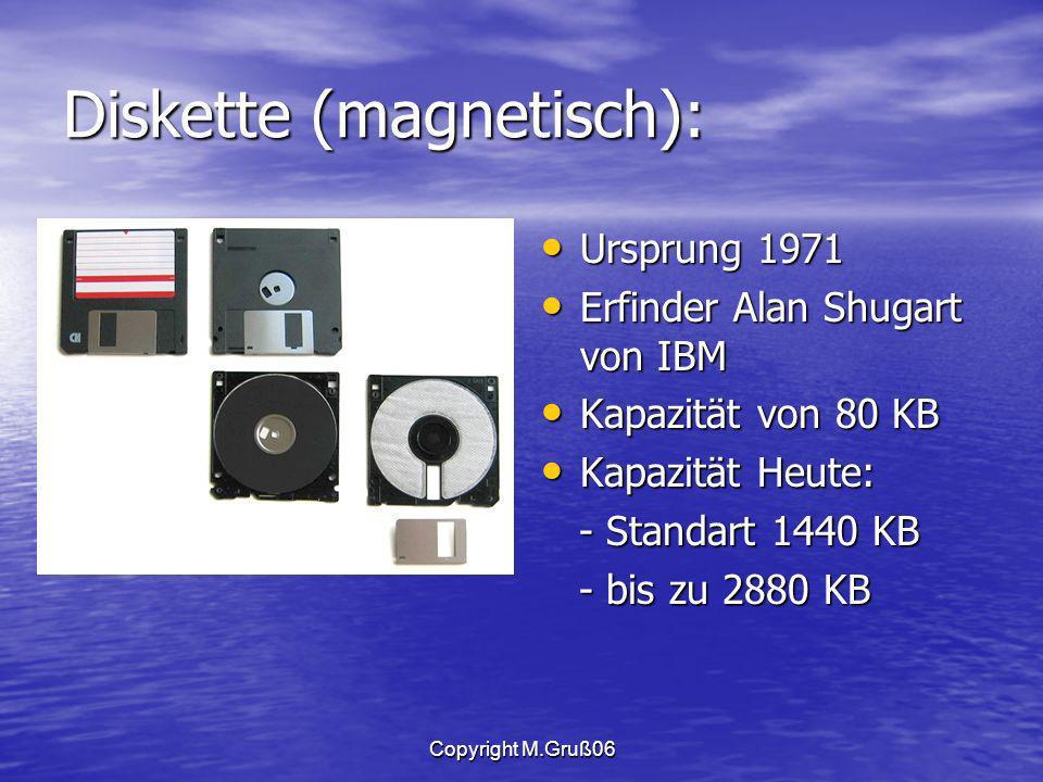 Diskette (magnetisch):