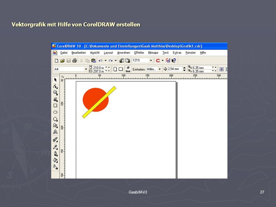 Vektorgrafik mit Hilfe von CorelDRAW erstellen