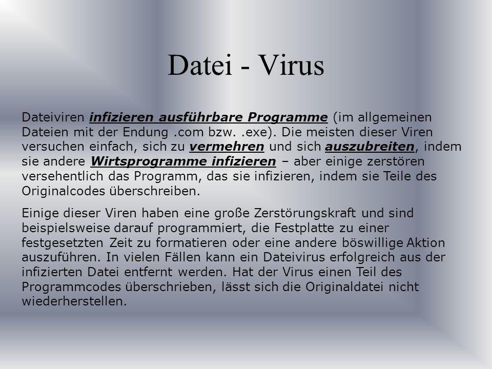 Datei - Virus