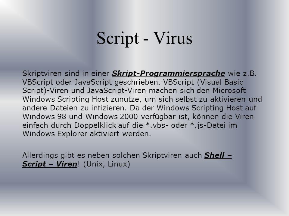 Script - Virus