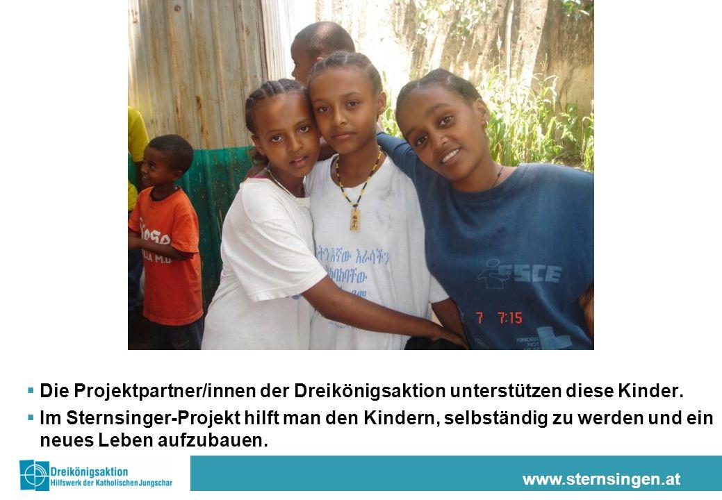 Die Projektpartner/innen der Dreikönigsaktion unterstützen diese Kinder.