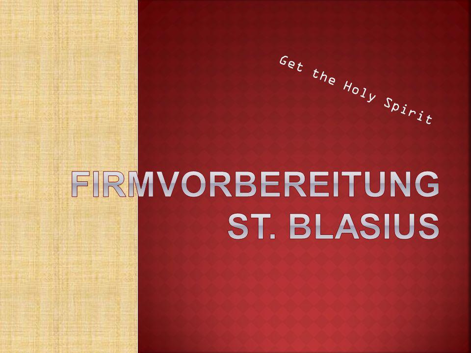 Firmvorbereitung St. Blasius