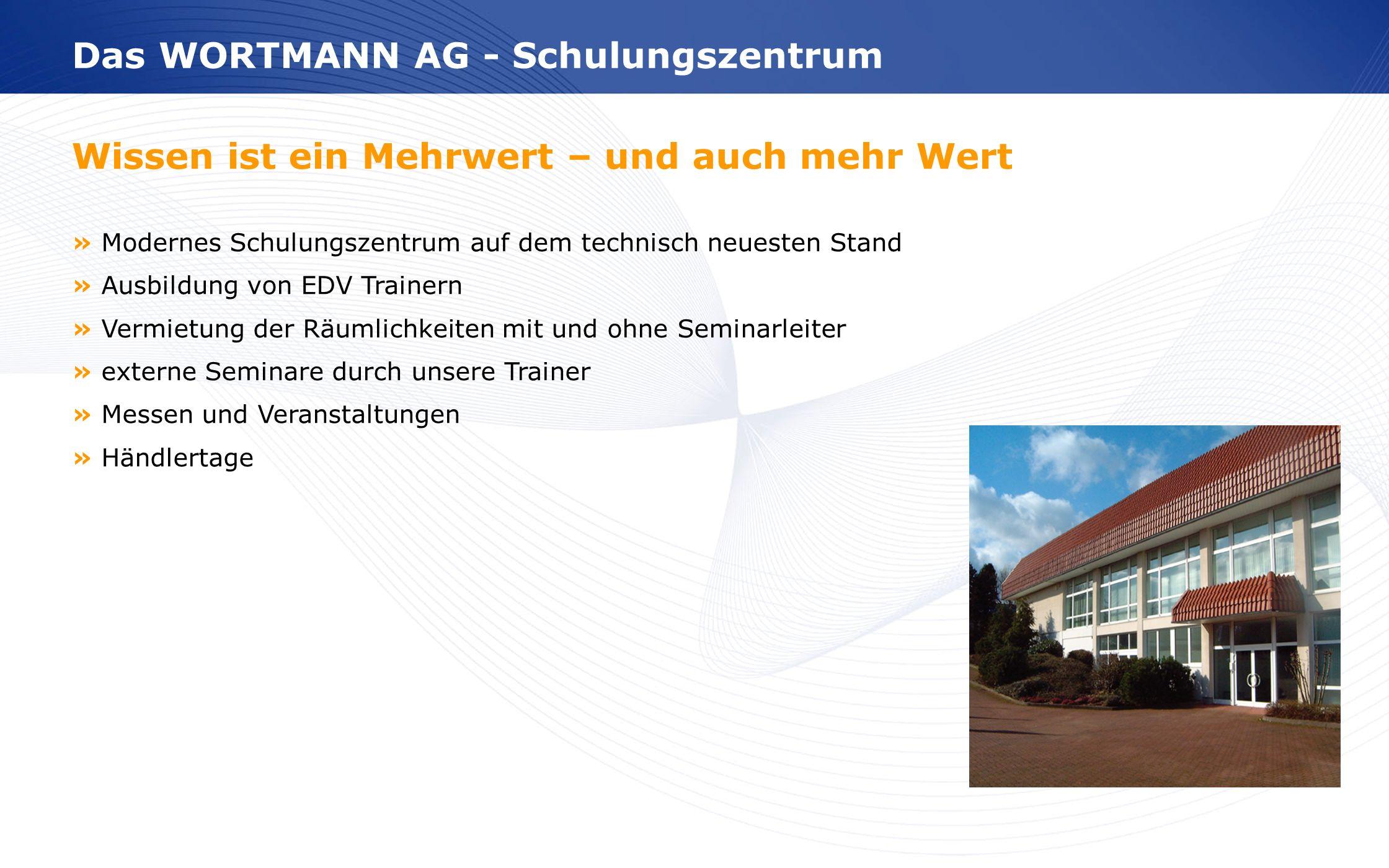 Das WORTMANN AG - Schulungszentrum