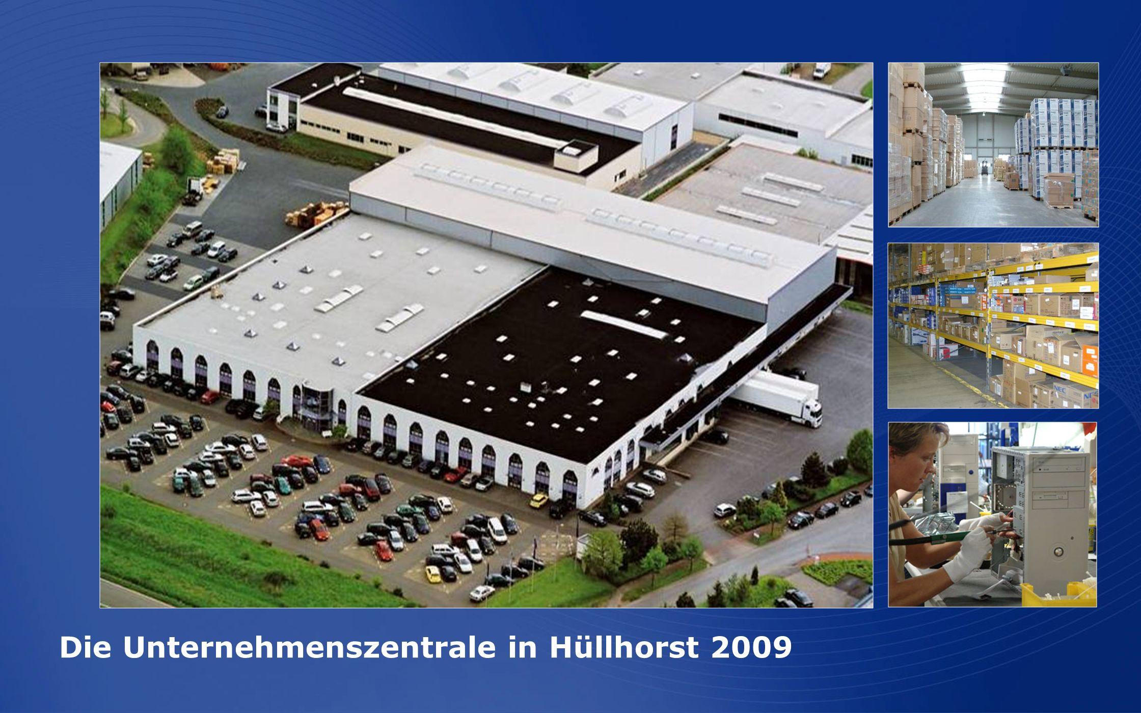 Die Unternehmenszentrale in Hüllhorst 2009