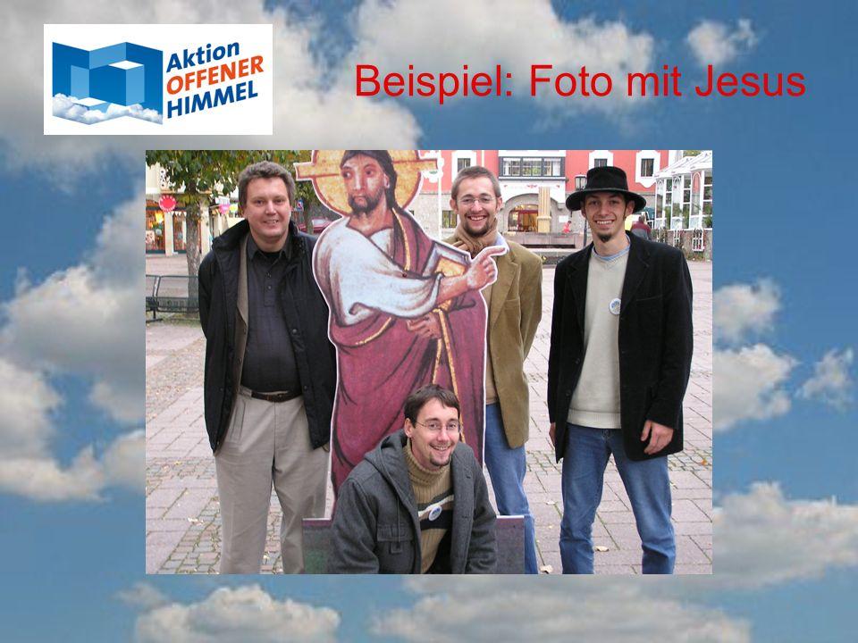 Beispiel: Foto mit Jesus