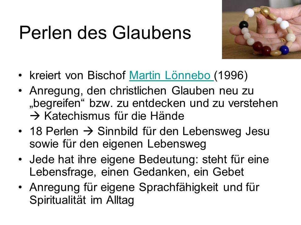 Perlen des Glaubens kreiert von Bischof Martin Lönnebo (1996)