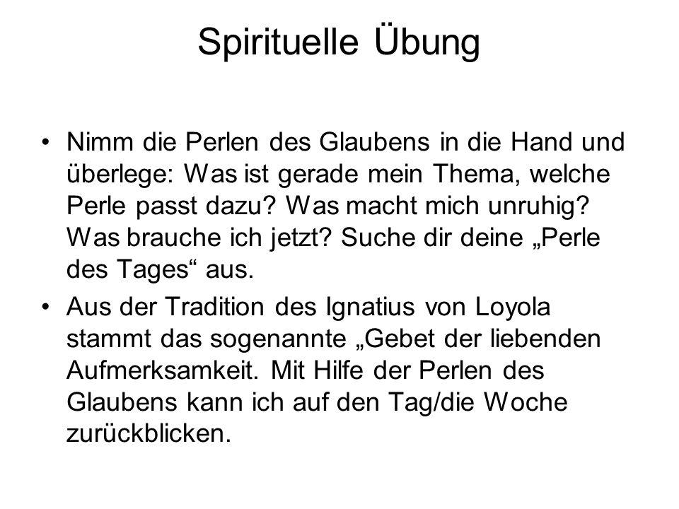 Spirituelle Übung