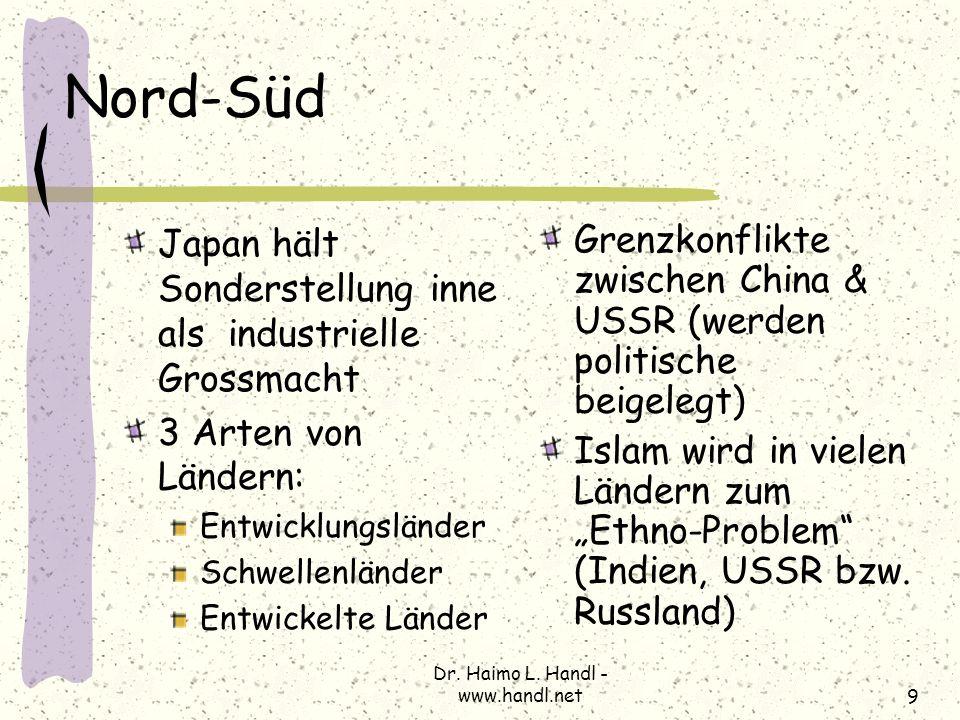 Dr. Haimo L. Handl - www.handl.net