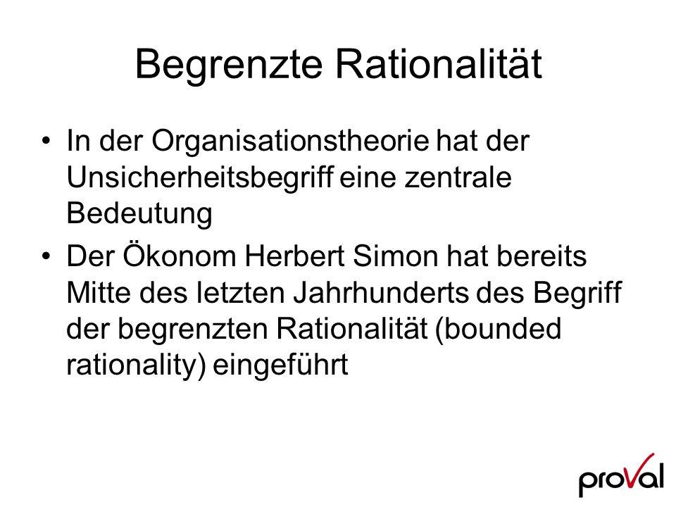 Begrenzte Rationalität