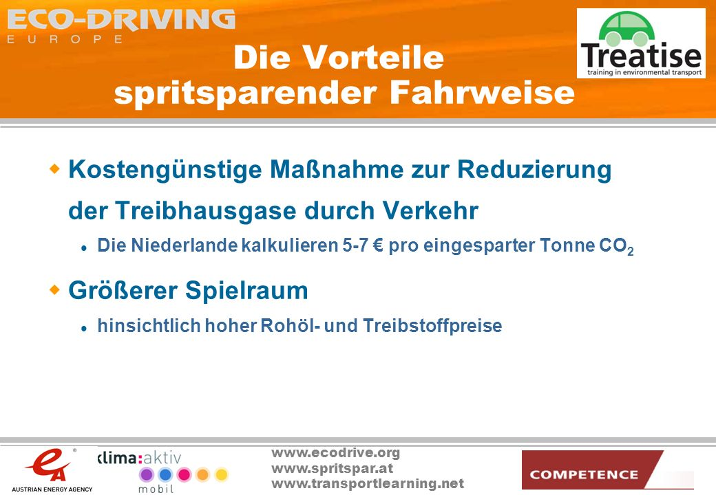 Die Vorteile spritsparender Fahrweise