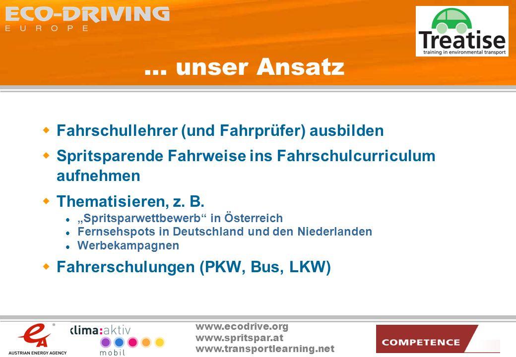 ... unser Ansatz Fahrschullehrer (und Fahrprüfer) ausbilden