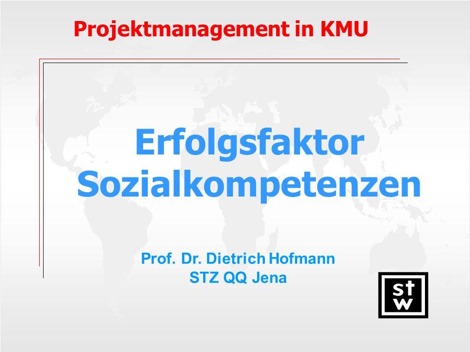 Prof. Dr. Dietrich Hofmann