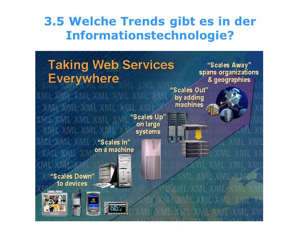 3.5 Welche Trends gibt es in der Informationstechnologie