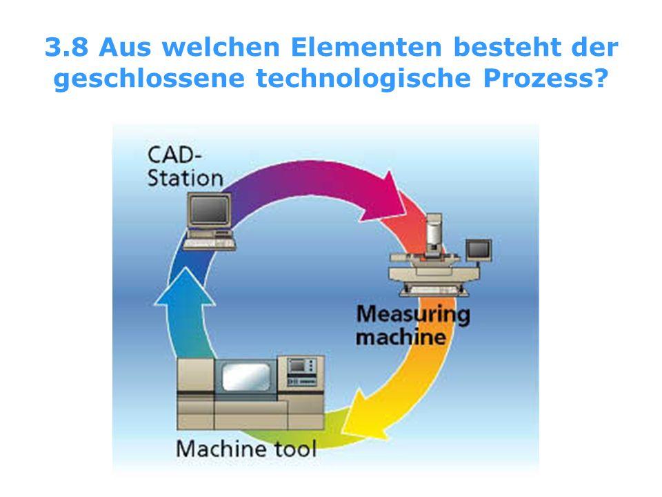 3.8 Aus welchen Elementen besteht der geschlossene technologische Prozess