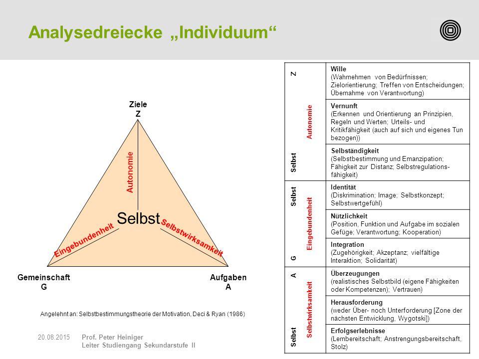 "Analysedreiecke ""Individuum"