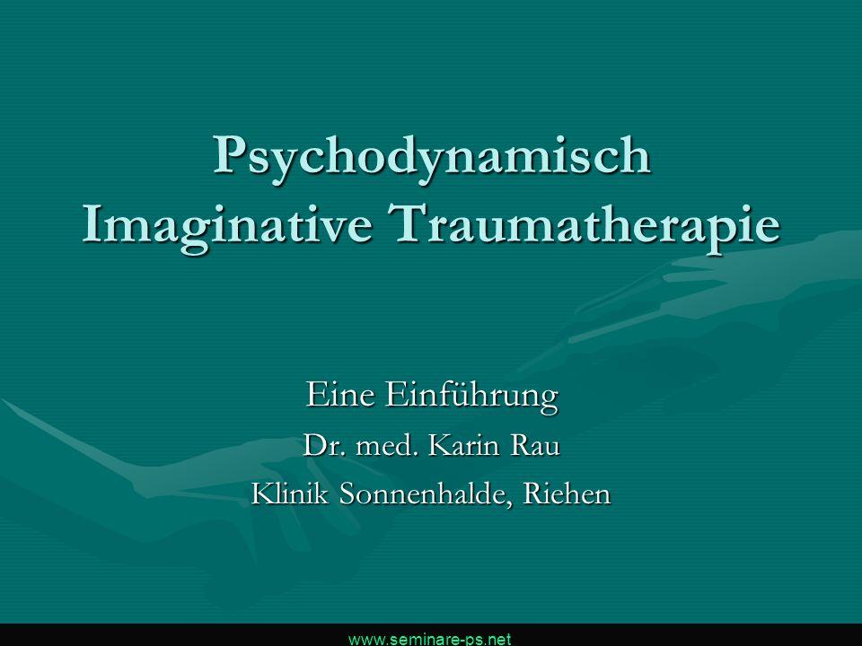 Psychodynamisch Imaginative Traumatherapie