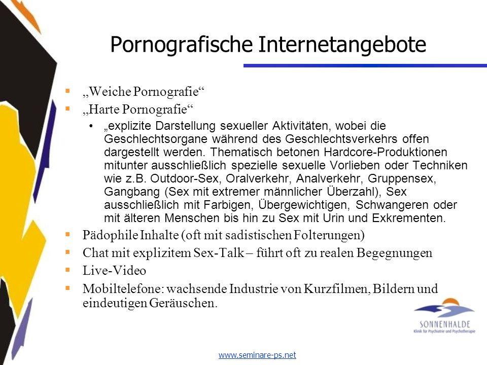 Pornografische Internetangebote