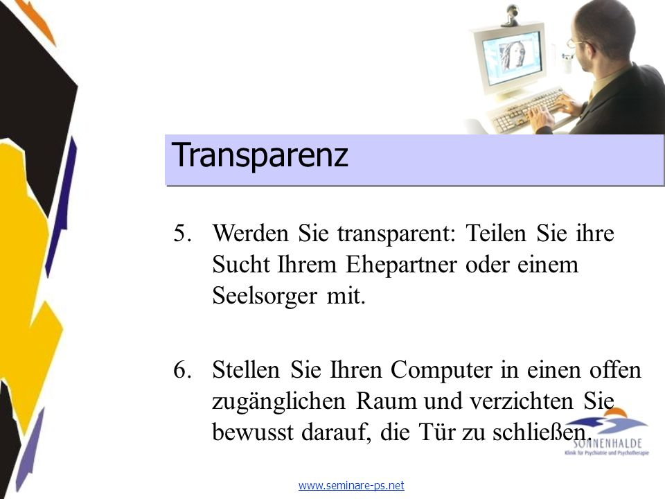 Transparenz Integration