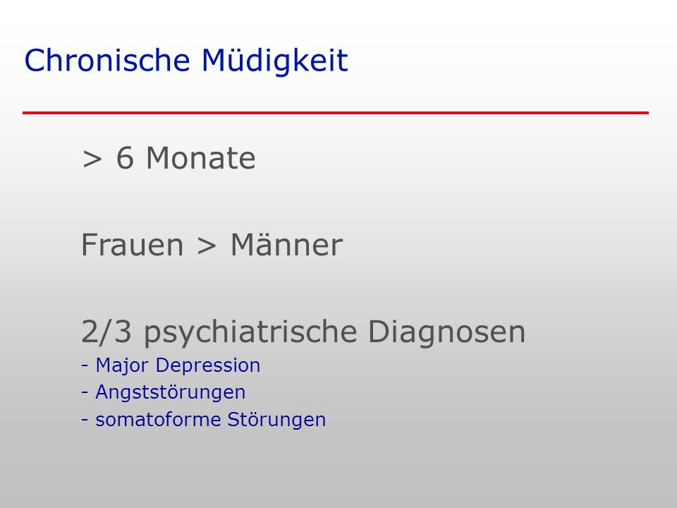 2/3 psychiatrische Diagnosen