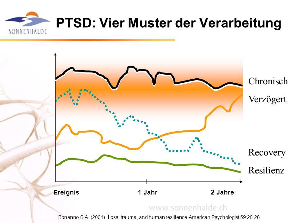 PTSD: Vier Muster der Verarbeitung
