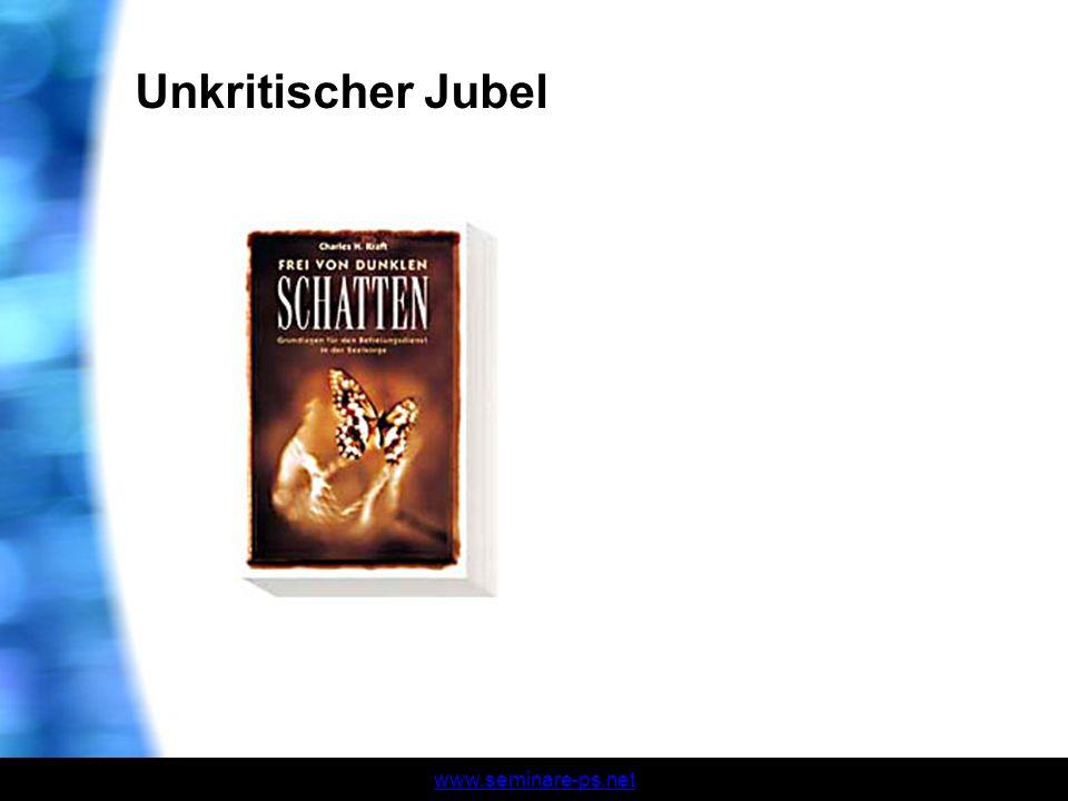 Unkritischer Jubel