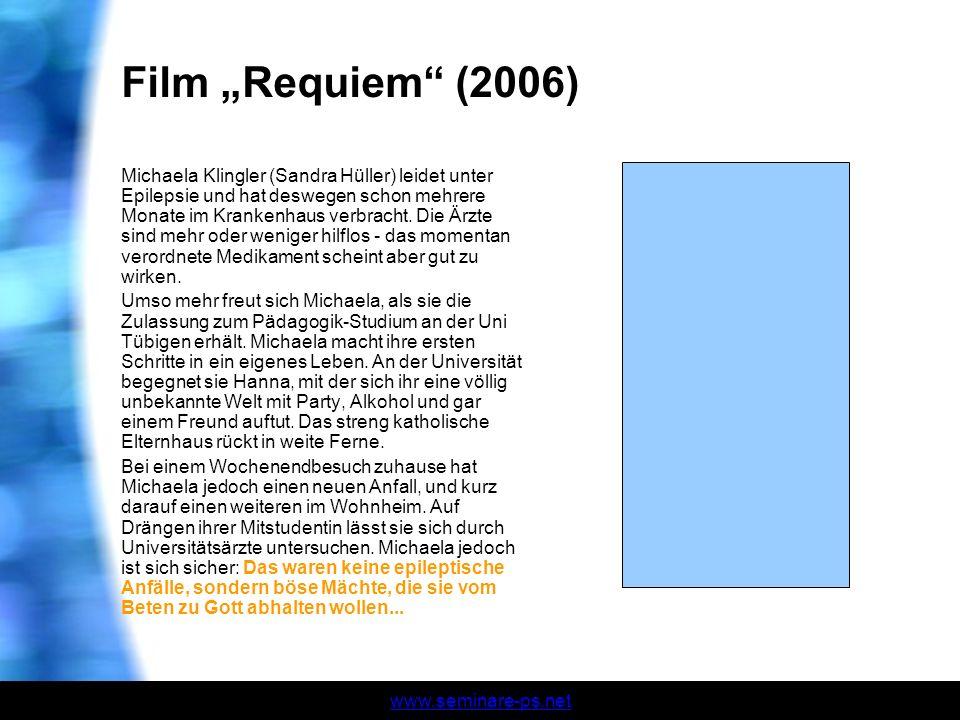 """Film """"Requiem (2006)"""