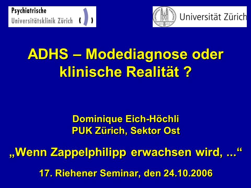 ADHS – Modediagnose oder klinische Realität
