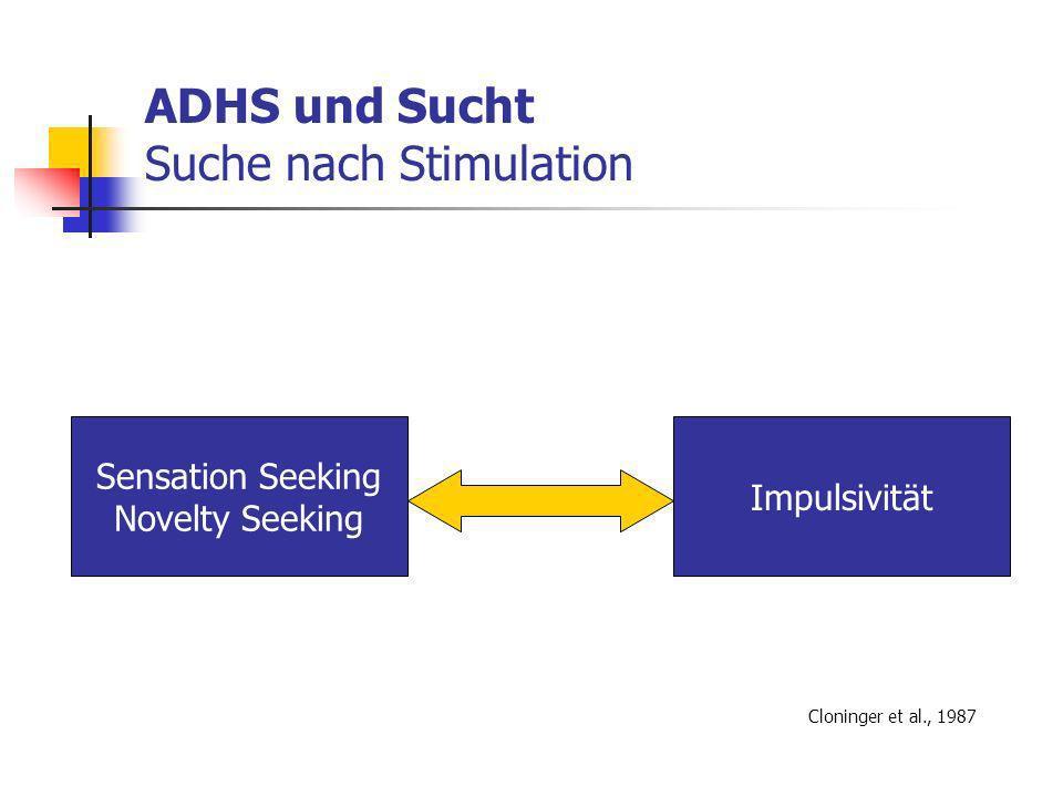 ADHS und Sucht Suche nach Stimulation