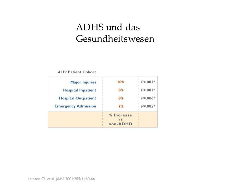 ADHS und das Gesundheitswesen