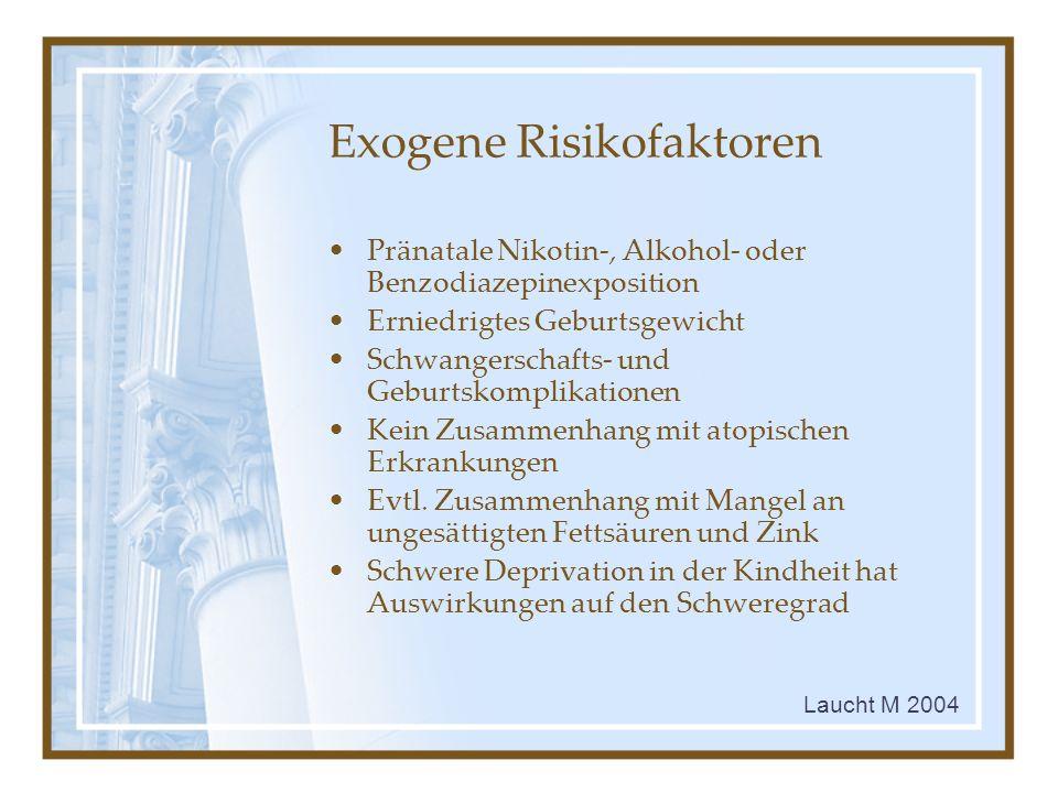 Exogene Risikofaktoren
