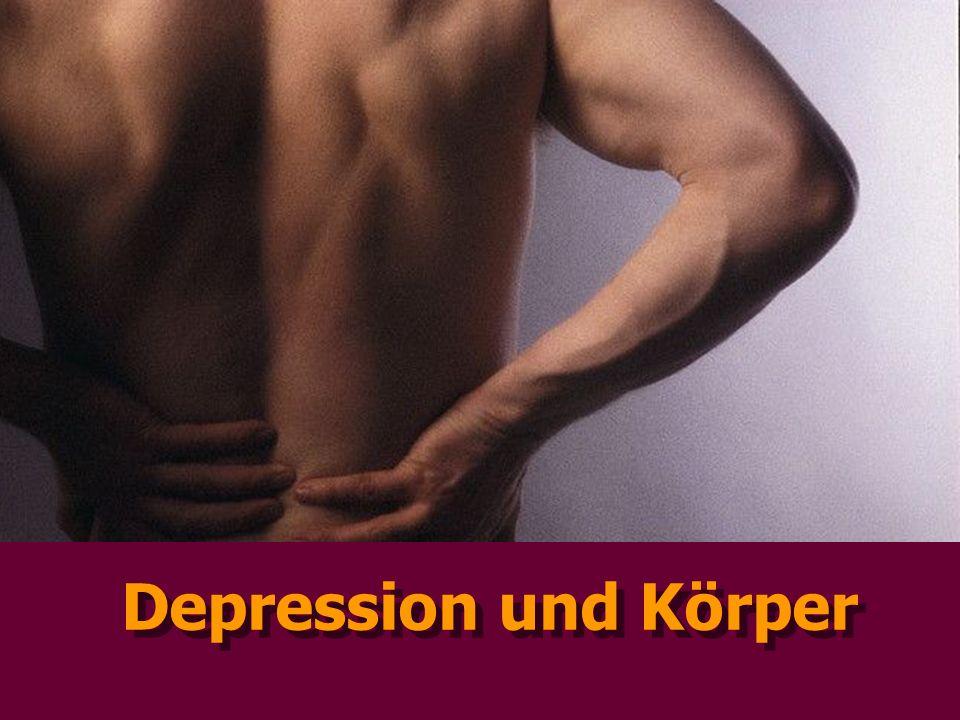 Depression und Körper