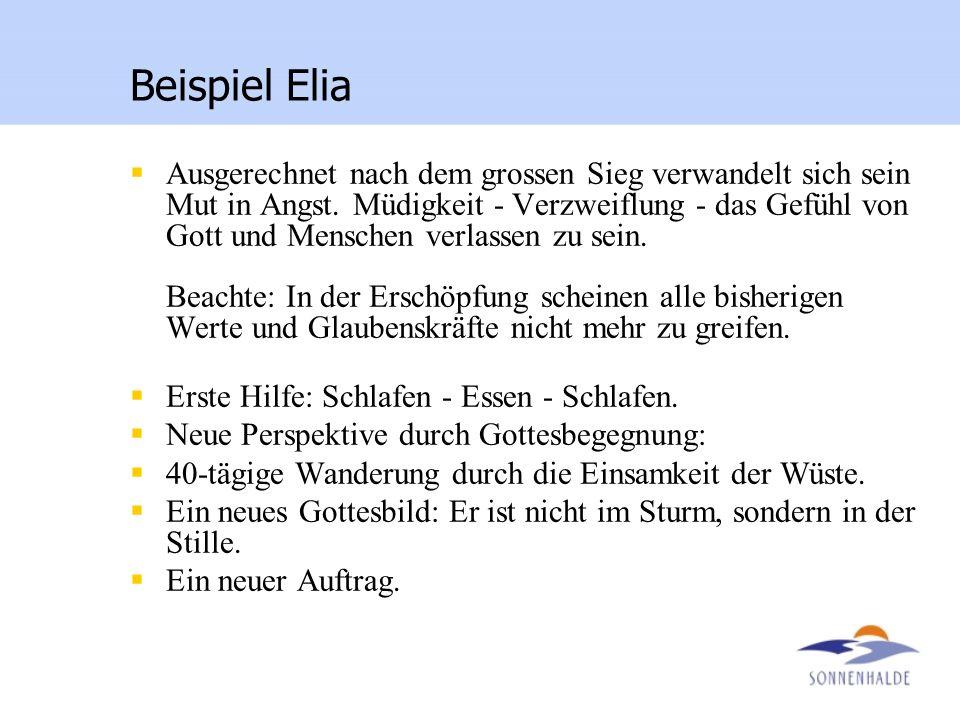 Beispiel Elia