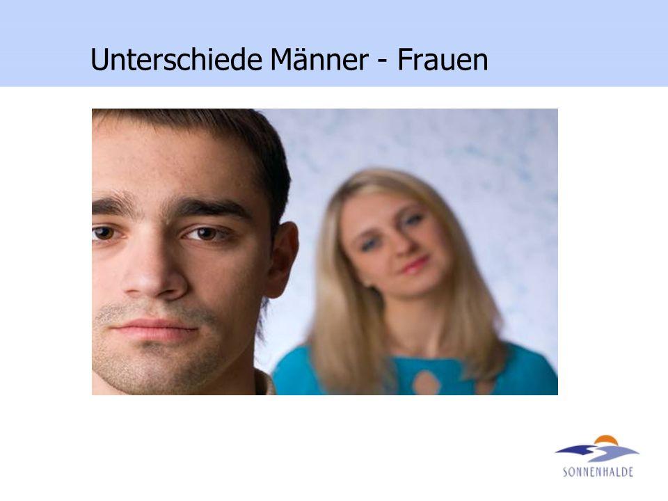Unterschiede Männer - Frauen