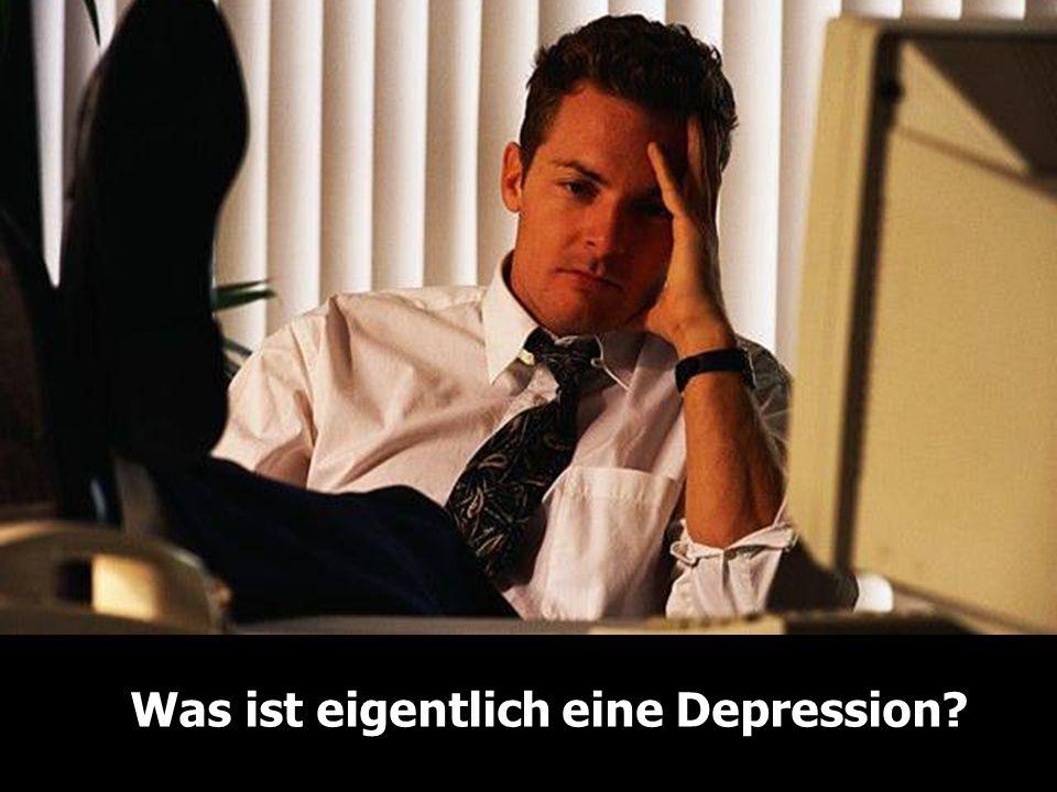 Was ist eigentlich eine Depression