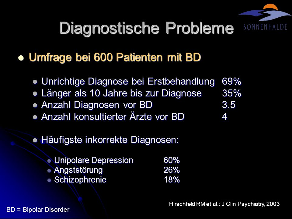 Diagnostische Probleme