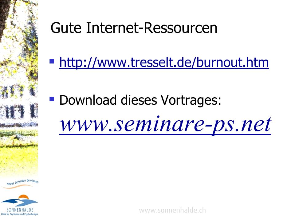 Gute Internet-Ressourcen