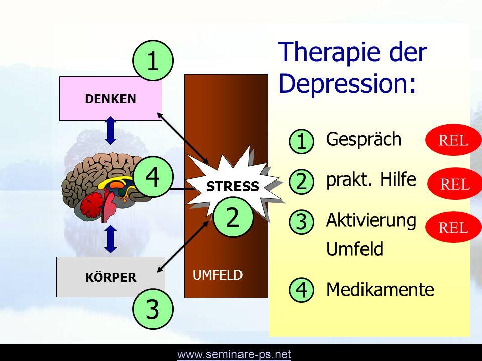 Therapie der Depression: