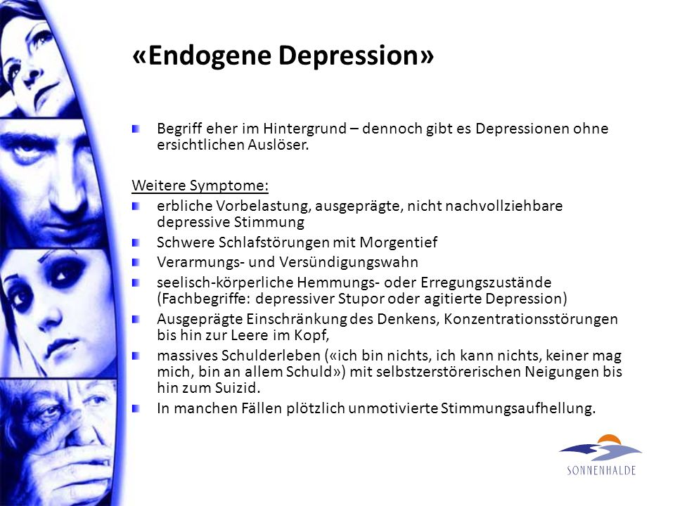 «Endogene Depression»