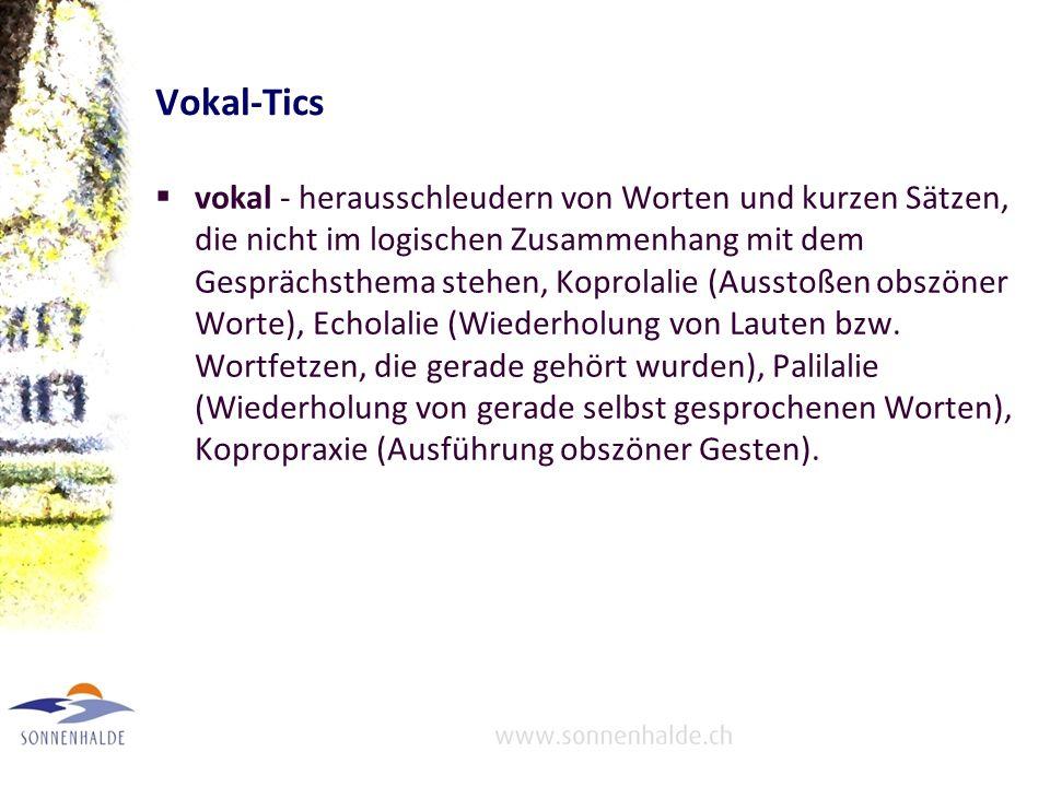 Vokal-Tics