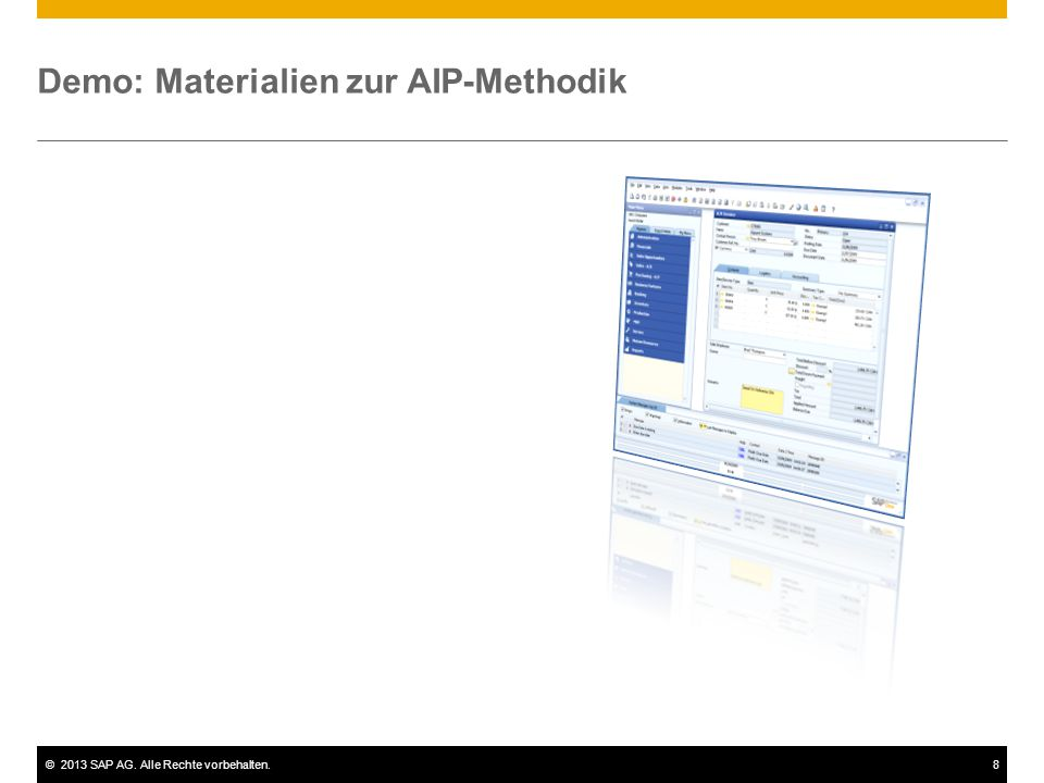 Demo: Materialien zur AIP-Methodik