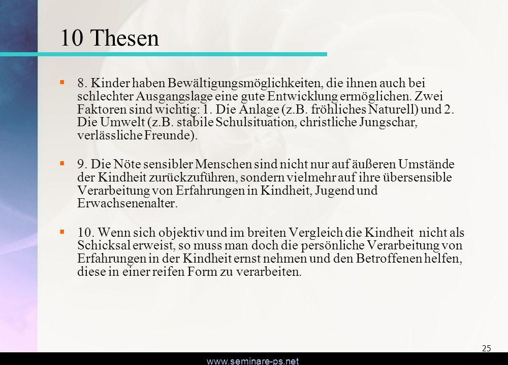 10 Thesen