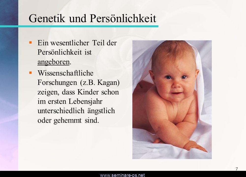 Genetik und Persönlichkeit