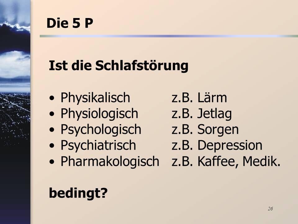 Schlafen und Träumen - Einleitung S. Pfeifer