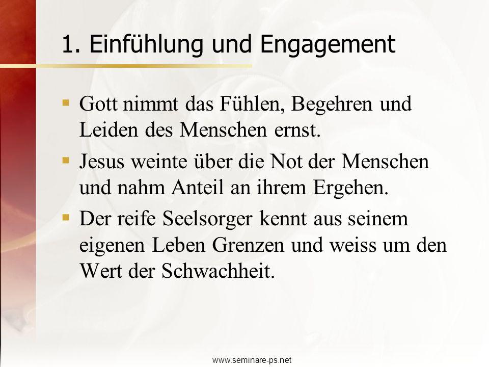 1. Einfühlung und Engagement