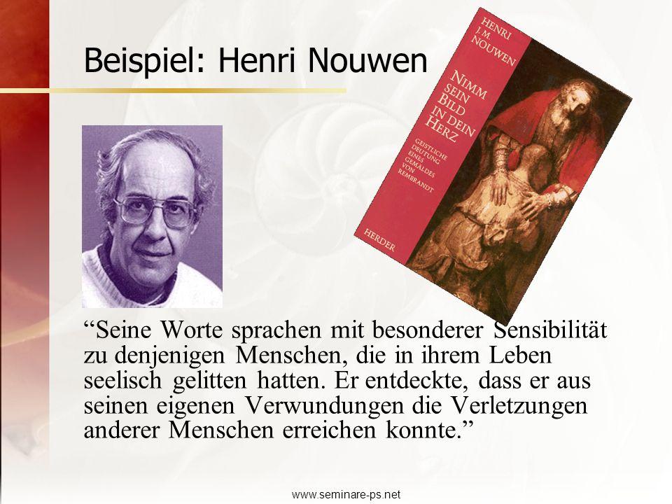 Beispiel: Henri Nouwen